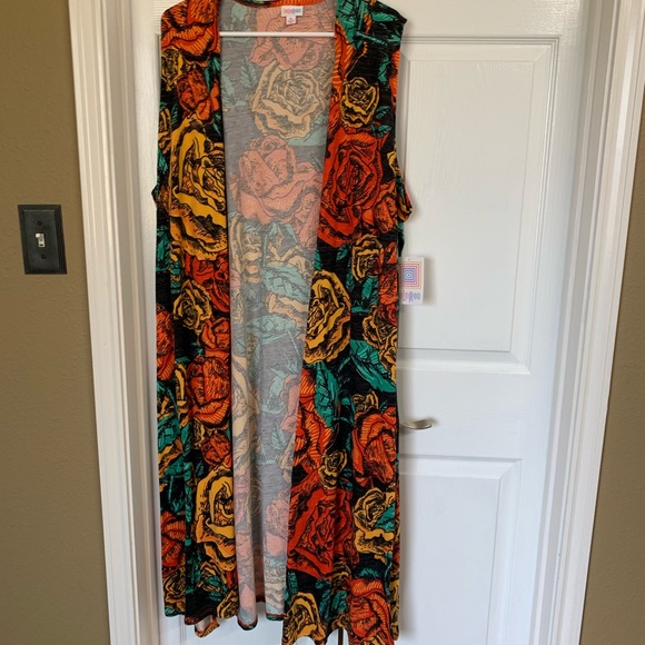 LuLaRoe Jackets & Blazers - Sleeveless long sweater vest